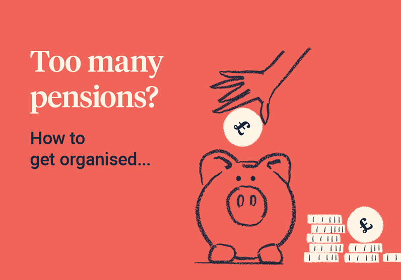 Too many pensions how to get organised