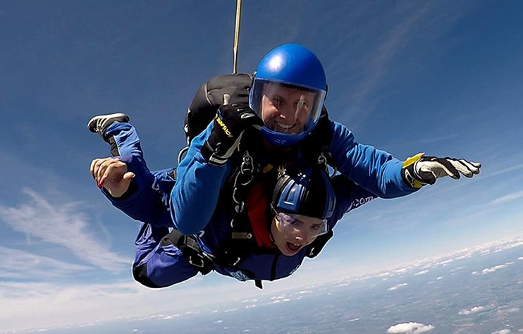 Saltus skydiving