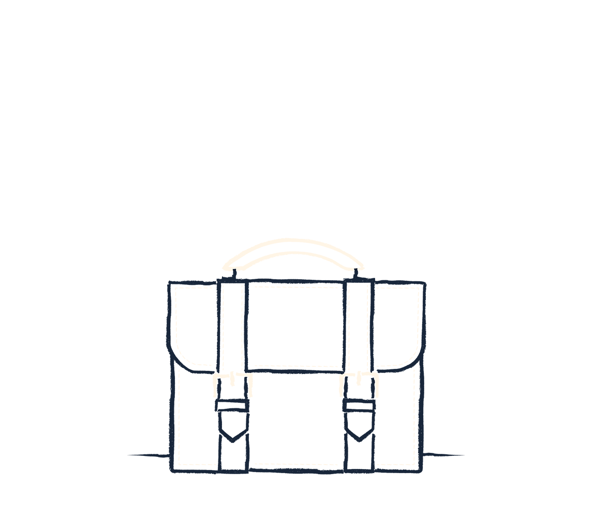 An illustration of a briefcase