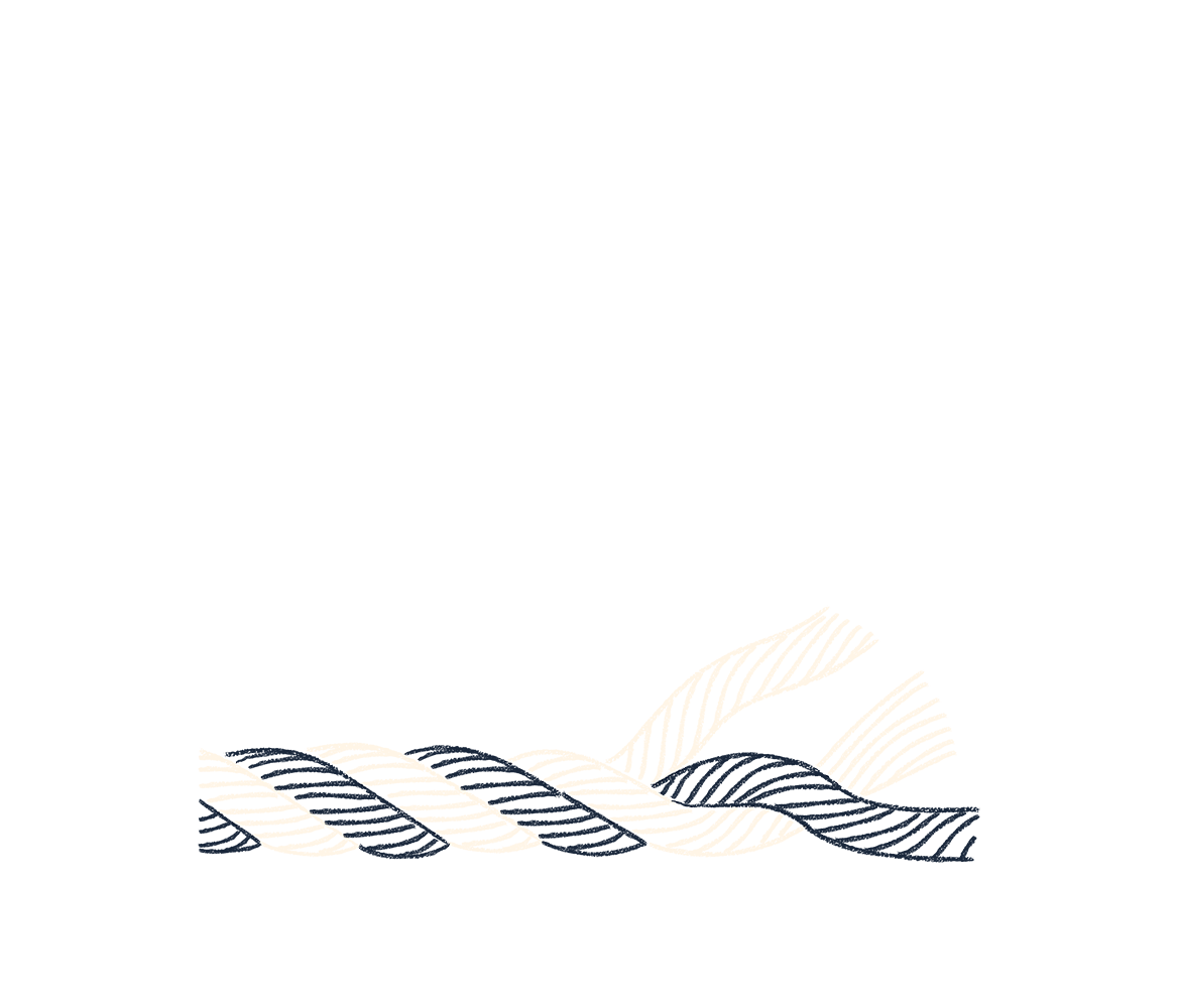 An illustration of a rope